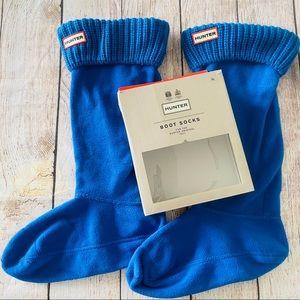 ✨NIB Hunter Original Half Cardigan Tall Boot Socks